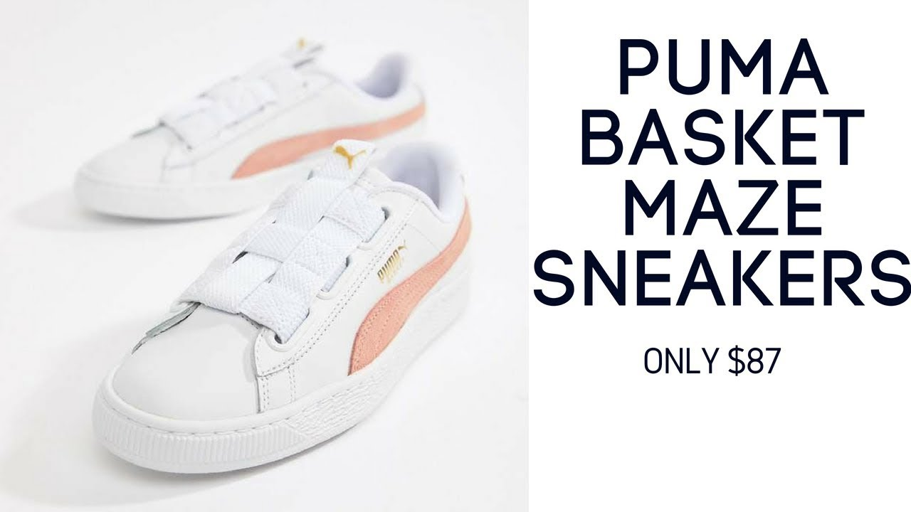 Puma Basket Maze Sneaker for womens