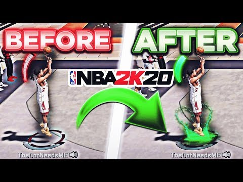 """""""WHY AM I MISSING WIDE OPEN SHOTS ON 2K20"""" .... ANSWERED"""