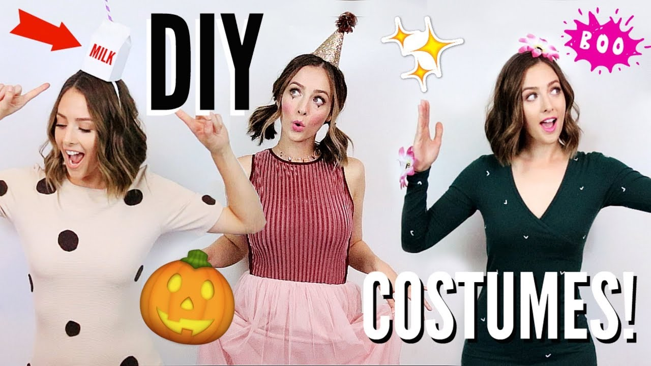 Cute Easy DIY Halloween Costumes 2017 Cactus Costume Cookies