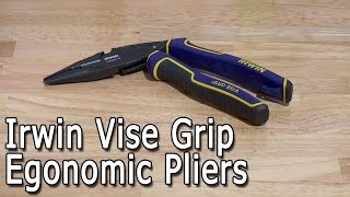 irwin vise grip ergonomic angled long nose pliers review