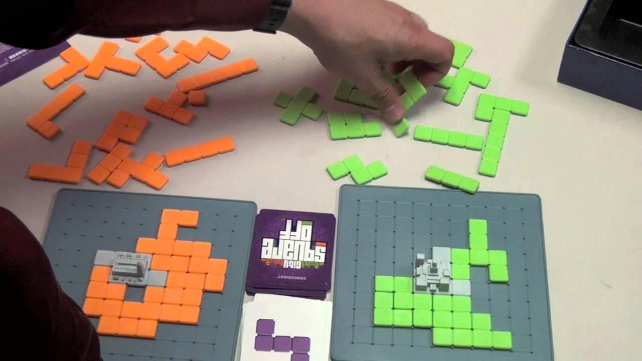 City Square Off Review - with Tom Vasel
