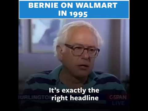 Throwback Thursday: Bernie Sanders On Walmart In 1995