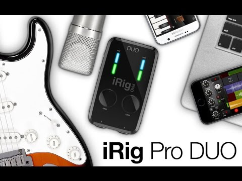 iRig Pro DUO - Overview
