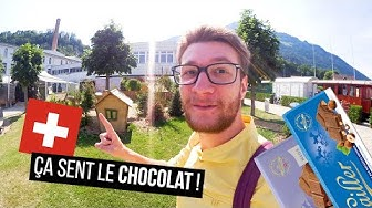 JE VISITE UNE USINE DE CHOCOLAT SUISSE !