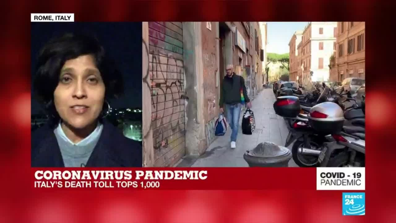 Coronavirus update: Italy's death toll tops 1000 as US official ...