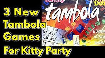 3 New Tambola Games for Kitty Party - Monikazz DIY