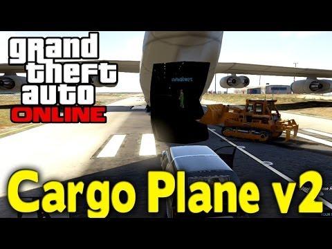GTA Online - More Cargo Planes & How To Get Back Open (Modded Mission v2) [GTA V Multiplayer]