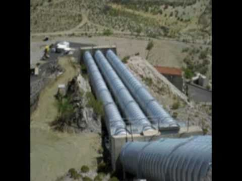 The Hinds Pumpimg Plant in California near Arizona - Hayfield Pumping Plant