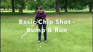 Chip Shot from around the green - Bump and Run