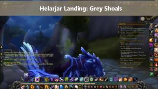 Helarjar Landing: Grey Shoals World Quest Azsuna World Of Warcraft