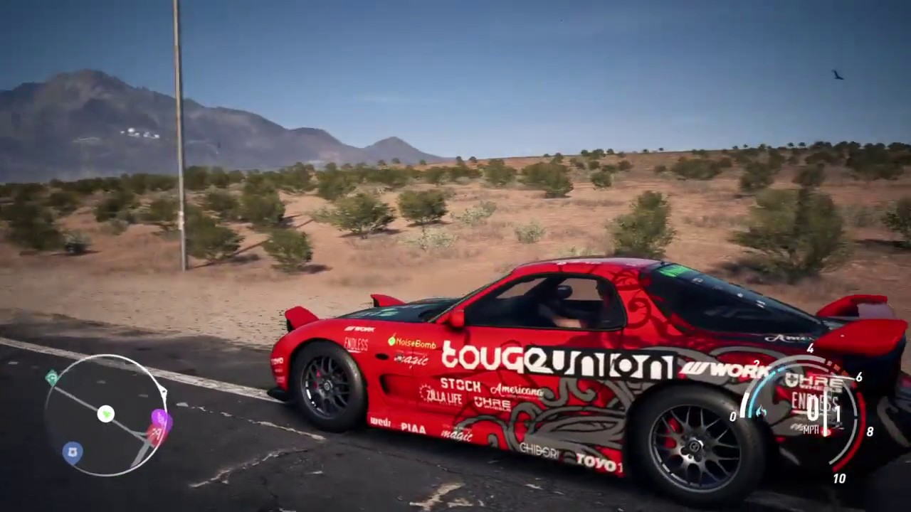 Need for speed payback abandoned car 2019