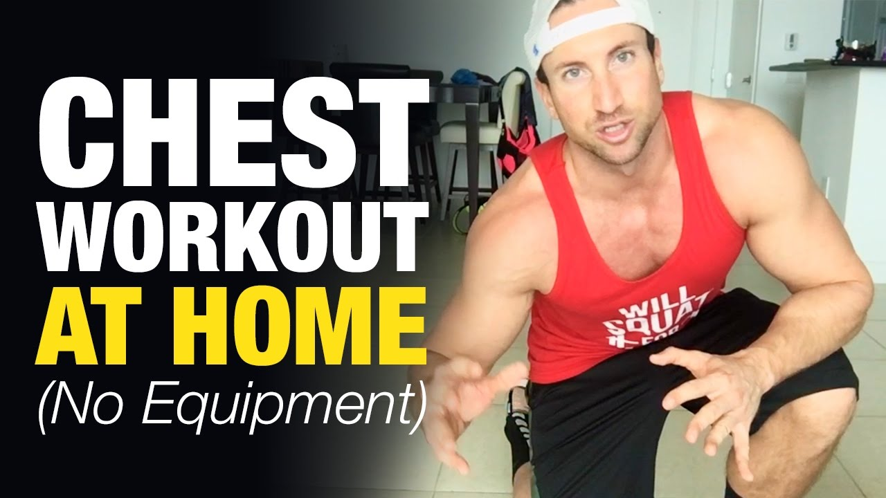 Chest Workout At Home For Men (Build Mass Without
