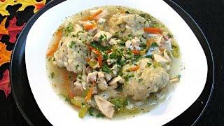 Chicken and Dumplings Recipe - PoorMansGourmet