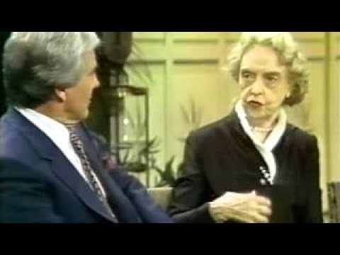 Myrna Loy, Lillian Gish, 1980 TV Interview