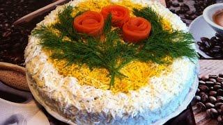 Печеночный Торт/Печінковий Торт/Liver Cake/Простой Пошаговый Рецепт(Вкусный и Очень Нежный)