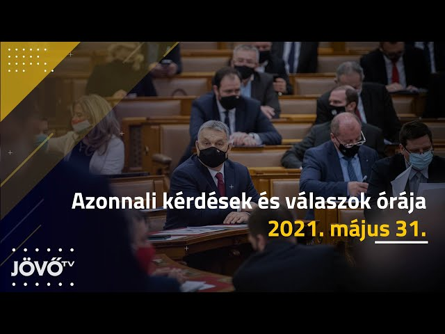 Orbán Viktort kérdezik a Parlamentben az azonnali kérdések és válaszok órájában | Jövő TV