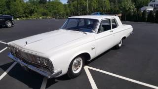 Heading to Mecum in Kissimmee FL Jan 2018, 1963 Plymouth Savoy 426 MAX Wedge