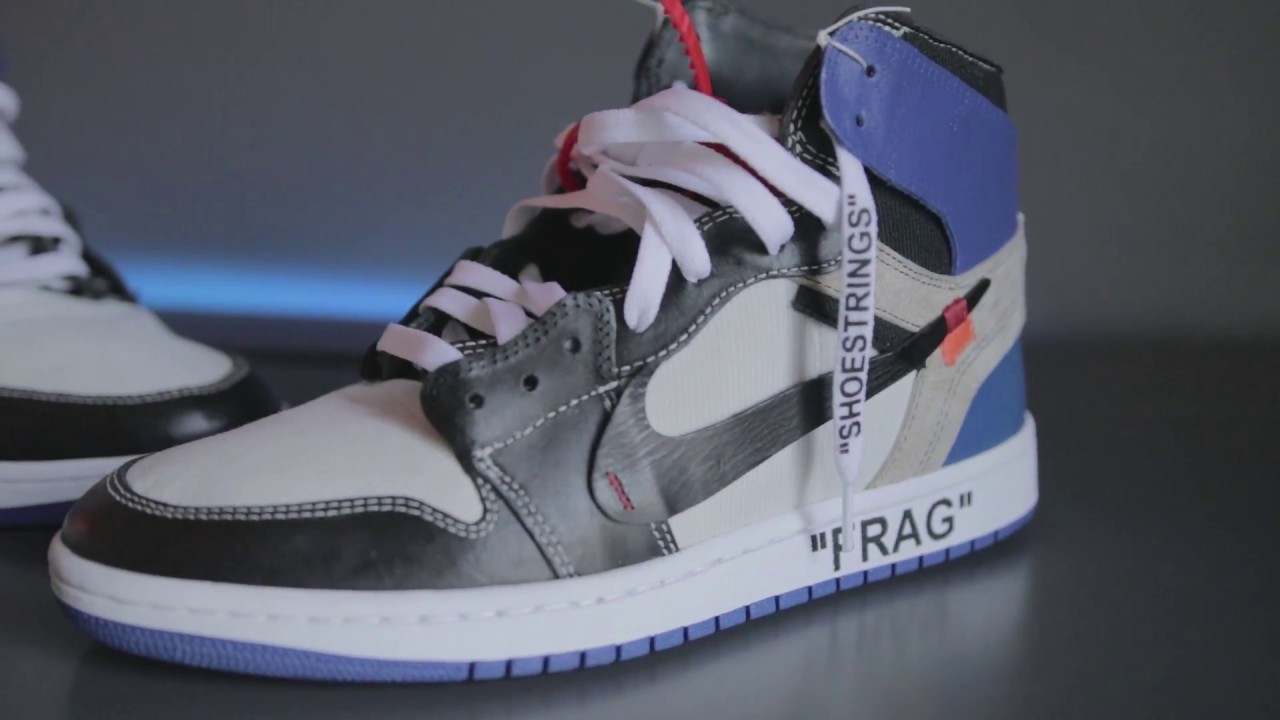 buy popular c5d59 eb66d Best Custom Jordan 1 OFF-White x Fragment - by   theheyyman
