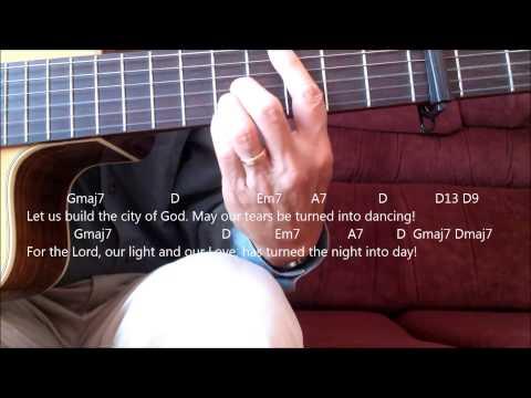 Catholic Hymn Guitar Solo - City of God (Dan Schutte)