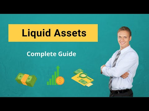Liquid Assets | (Definition, Example) | List Of Liquid Assets
