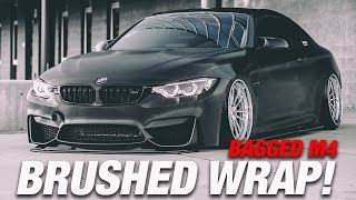 OUR BEST VINYL WRAP YET? BAGGED BMW M4  GETS FULL MAKEOVER