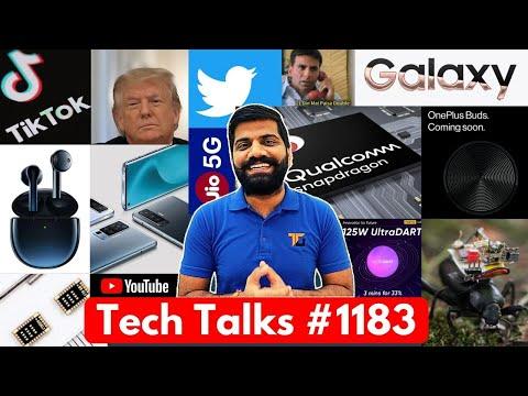 Tech Talks #1183 – Twitter Hacked, Galaxy M31s, vivo X50 Pro, Snapdragon 875G, Realme 125W, Note 20