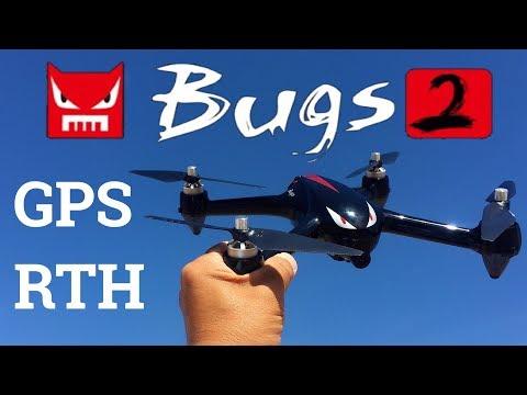 MJX B2W Bugs 2 WiFi FPV Brushless With 1080P HD Camera GPS RC Quadcopter RTF