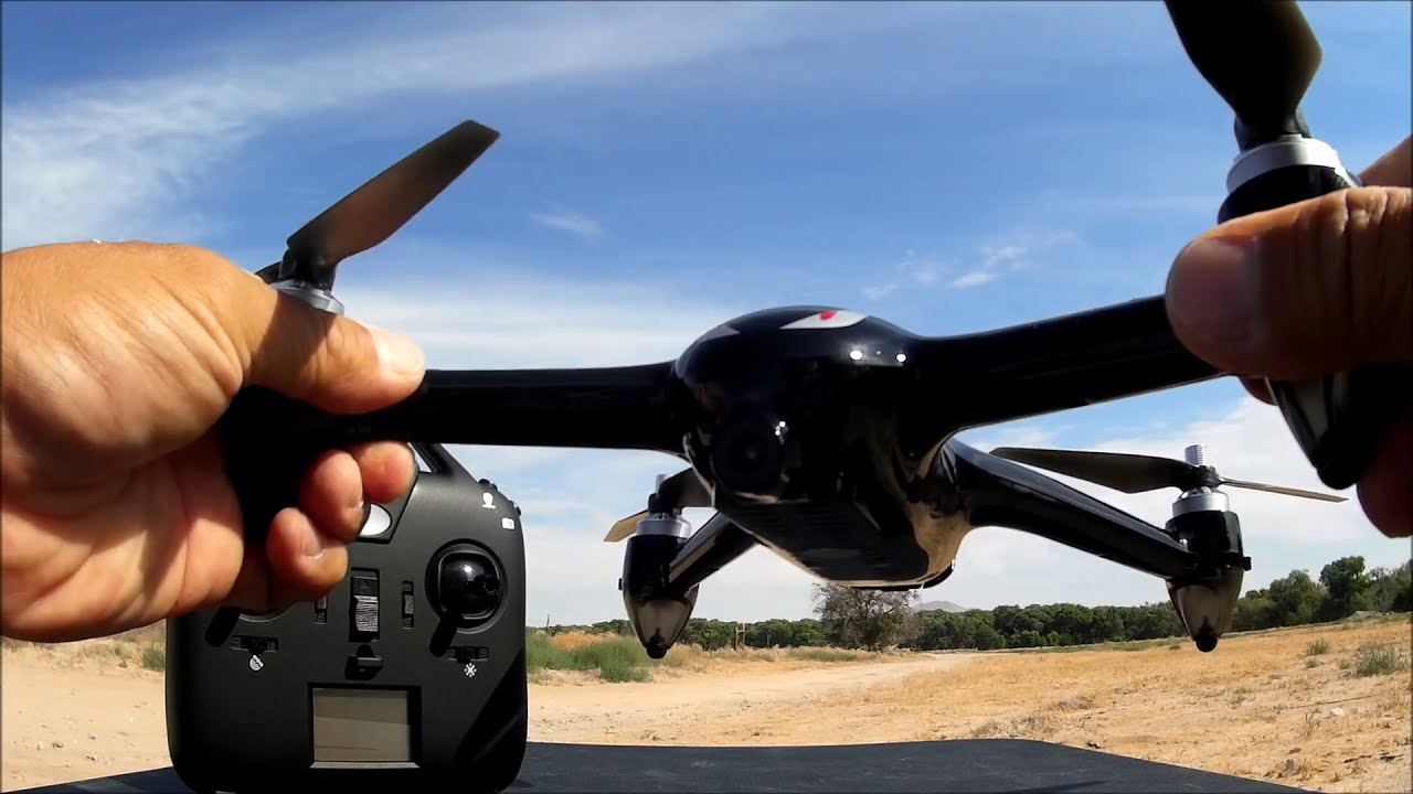MJX B2W Bugs 2 WiFi FPV Brushless With 1080P HD Camera GPS RC Quadcopter RTF фото