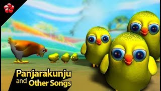 Malayalam nursery rhymes ♥Panjara kunju and other kids songs