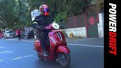 Bajaj Chetak   First electric ride   PowerDrift