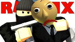 INBREKEN BIJ BALDI !!   Roblox Robbery Simulator