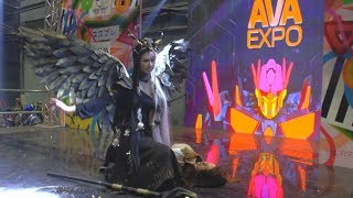 Cosplay Hel Norse mythology /Ava Expo 2017/