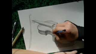 Speed Drawing - Violin