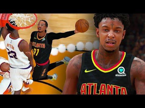 21 SAVAGE JOINS QUAVO IN ATLANTA! NBA DEBUT GAME COMBINE FOR 98 POINTS! NBA 2K19 QUAVO CAREER