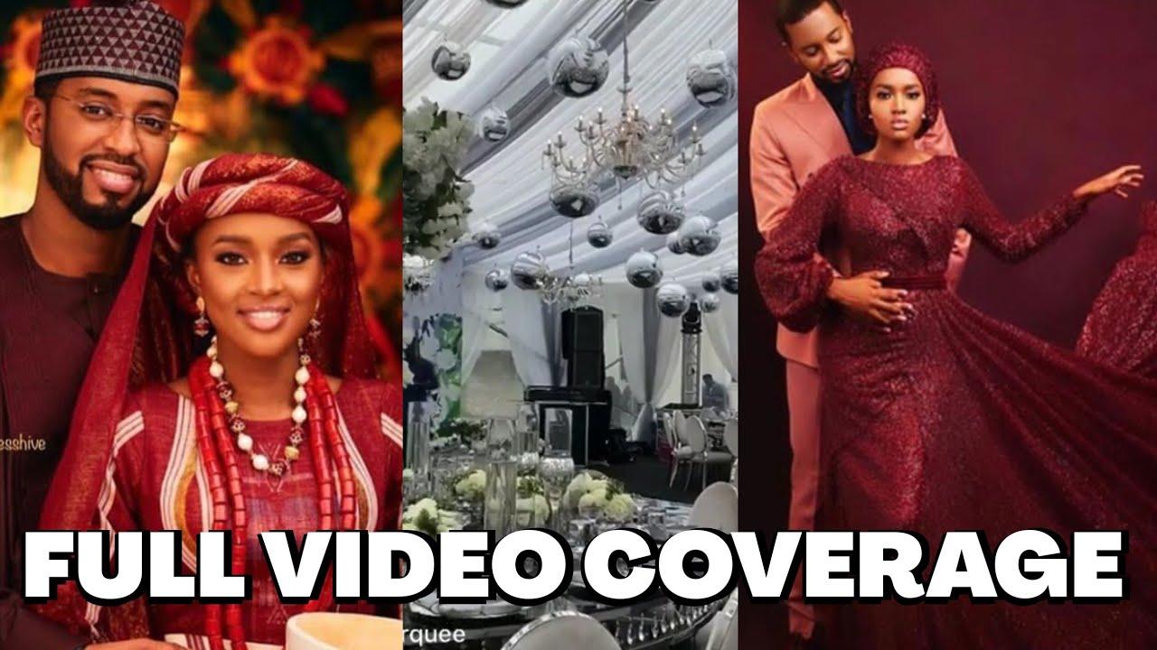 Download Exclusive Video: President Buhari's Daughter Grand Wedding Ceremony...Bigger Than Dangote's Wedding
