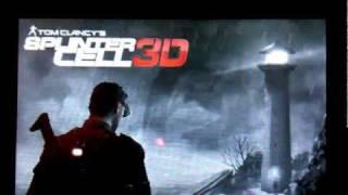 Splinter Cell 3DS + Gameplay