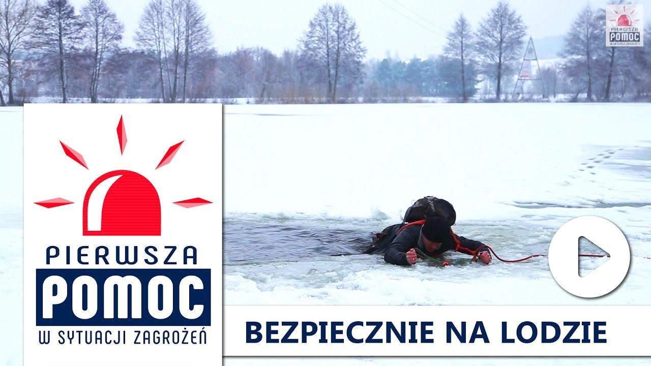 PIERWSZA POMOC: Bezpiecznie na lodzie