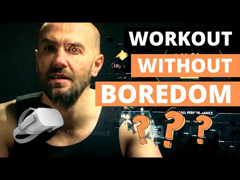 Cardio Fitness : How to workout without boredom with HOLOFIT virtual reality by HOLODIA