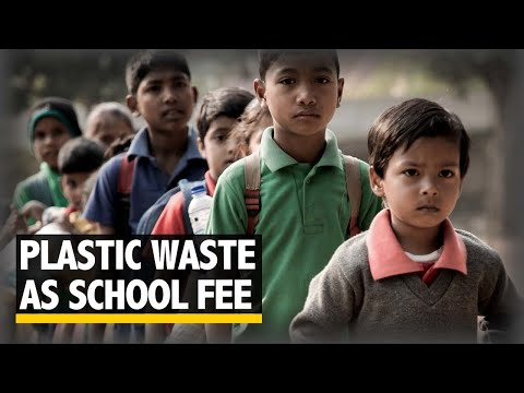 No money to pay school fees? Pay with plastic waste.