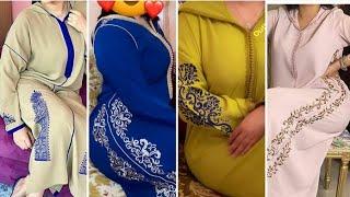 جديد جلابة مغربية موضيلات صيفية خفاف آجي تشوفي ألوان الموضة 2021