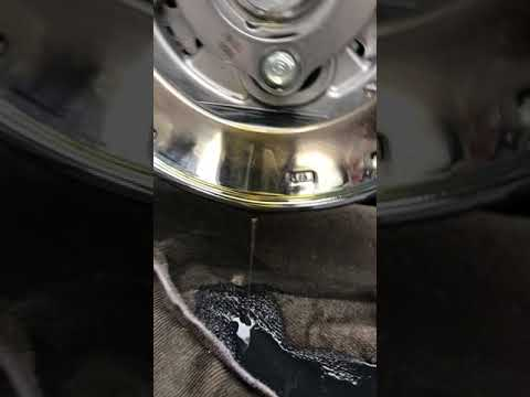 New 2019: 1000 miles up   is this oil transfer? (video) Sure