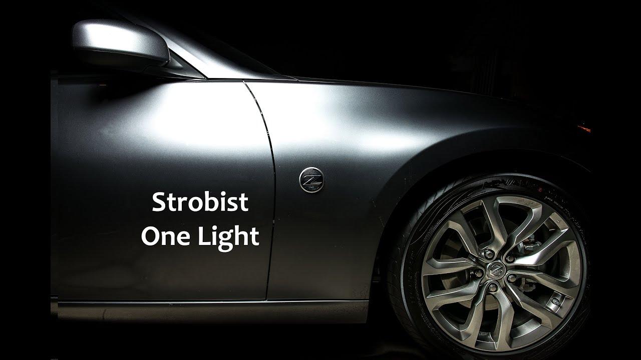 Lighting Painting A Car