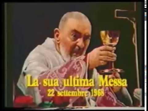 Padre Pio, ultima messa del Santo il 22 Settembre 1968
