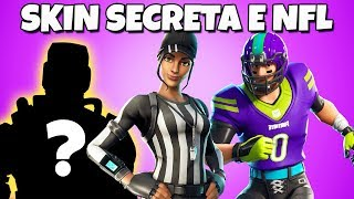 LEAKED THE SECRET SKIN AND NEW FORTNITE SKINS