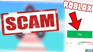 THESE ROBLOX GAMES WILL SCAM YOU