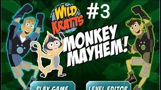 Wild Kratts - Monkey Meyhem! Level 3 | Learn about Animals Online Game by PBS Kids