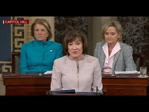 Susan Collins says she will vote to confirm Brett Kavanaugh to Supreme Court