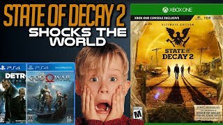 State of Decay 2 Hits #1 - Outsells God of War and Detroit: Become Human | Xbox Game Pass Helping?