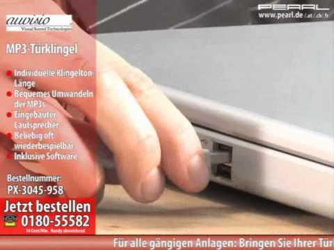 auvisio MP3-Türklingel (refurbished)