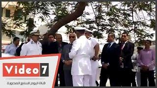 بالفيديو.. مدير أمن القاهرة يتفقد ميدان التحرير ومنطقة وسط البلد